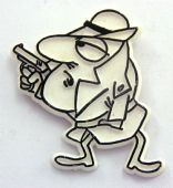 Pink Panther - 'Inspector Clouseau' Plastic Badge